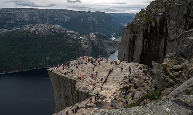 Ruta por Noruega : Preikestolen y Stavanger