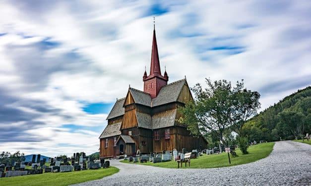Ruta por Noruega : Iglesia de Ringebu y Oslo