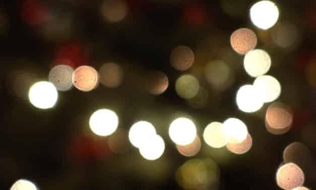 La magia de las luces de Navidad
