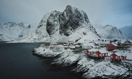 Lofoten (Noruega), de repente llegó la magia